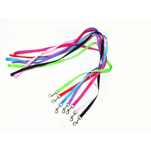 120cm Long High Quality Nylon Dog Pet Leash Lead for Daily Walking 1.5cm Width 7 Colors Optional 1pcs(China)