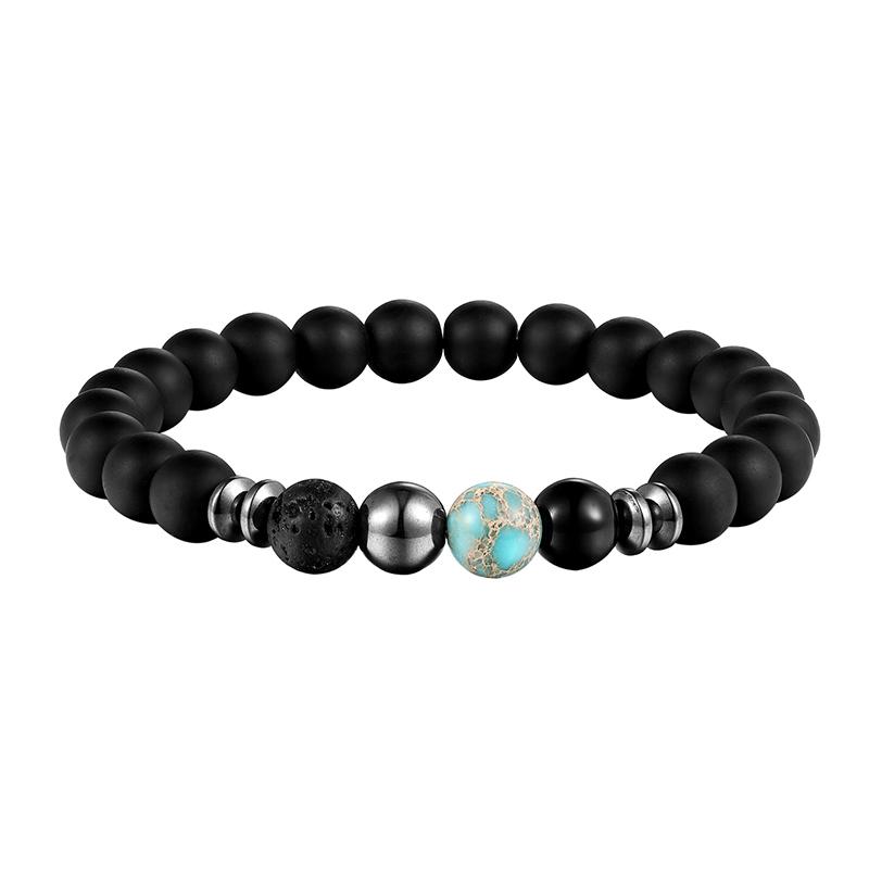 Bracelet en pierre naturelle coloré
