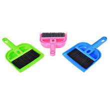 New Quality Mini Desktop Sweep Cleaning Brush Small Broom Dustpan Set Dropshipping &109(China)