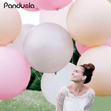 36 Inches Balloon Ball Helium Inflable Big Latex Balloons For Happy Birthday Party Decoration kids ballon baloon helium balloons(China)