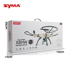 Buy RC Drones Syma X8HW Brush Motor 2.4G 4CH 6-Axis Remote Control Helicopter Quadrocopter 720P WiFi FPV HD Camera for $120.90 in AliExpress store