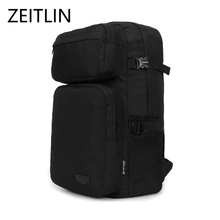ZEITLIN Men's backpack Casual Luggage Travel bag Waterproof 14 inch Laptop Computer bags Oxford High Quality back Mochila H989