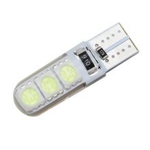 High Bright W5W T10 LED Waterproof Canbus Car Wedge Light SMD 5050 Automobile Clearance Lights Signal Lamp 12V DC