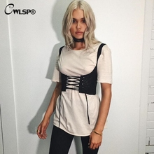 CWLSP Lace Up Jeans Tanks Top For Women Sexy Adjustable Bustier Women Cropped Tanks Top Female Summer Cowboy Vest 2017 QZ2066