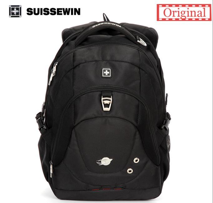 swiss laptop Backpack Mochila Feminina Suissewin boy Backpack School Laptop Bag Swisswin Travel Bagpack Mochila Female Sn9323<br>