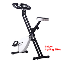 Buy Indoor foldable upright low noise spinning/indoor cycling bike 8 gear adjustment LCD X type designed adjustable cushion 200kg for $181.00 in AliExpress store