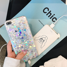 Buy Bling Laser Silver Sequins Phone Case iPhone 7 7plus 6 6s 4.7inch 6plus 6splus Soft Case Korean Fashion Style iPhone 6 for $5.59 in AliExpress store