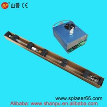 Kits Of 1 PCS Of 80w 1600mm length  Co2 Laser Tube And 1 PCS of 80W Laser Power Supply with wooden case Professional