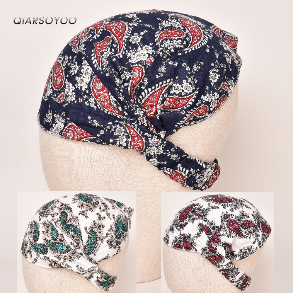 Paisley Print Elastic Fashion Wide Headband