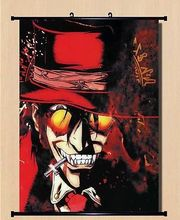 Home Decor Japanese Anime Wall poster Scroll Hellsing Alucard Cosplay Art 01(China)