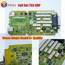 2017 Low Price TCS CDP Without bluetooth 2014R2/2015R3/2015.1 A++ Green Single board New VCI TCS scanner Diagnostic Scanner