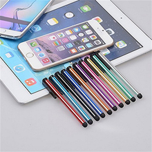 10PC Capacitive Touch Screen Stylus Pen For iPhone iPad 3/2 iPod Touch Suit For Universal Smart Phone Tablet PC Pen(China)