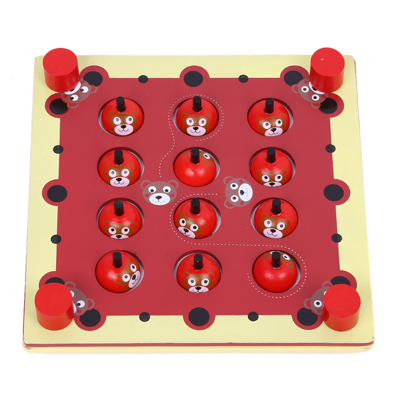 Baby Wooden Memory Game Blocks Find the Matching Pairs Kids Children Christmas Gifts Animal Wood Educational Toys<br><br>Aliexpress
