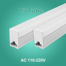 LED Tube T5 Fluorescent Integrated Light T8 Bulb Wall Lamp Lampada 30CM 60CM 1ft 2ft 6W 10W Ampoule Cold White 110V 220V 240(China)