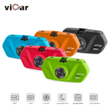 Original VICAR S5 Car DVR full HD Novatek 96650 Car Camera Recorder Black Box 160 Degree Video Recorder Night Vision Dash Cam