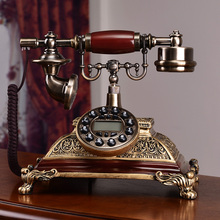 Fashion antique telephone american vintage home phone old fashioned fitted/Caller ID Hands-free/backlit(China)
