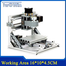 CNC 1610 GRBL control Diy mini CNC machine,working area 16x10x4.5cm,3 Axis Pcb Milling machine,Wood Router,cnc router ,v2.4(China)
