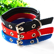 45-70cm Length Dual Layer Super Comfort Foam Cotton Nylon Strap Pet Collar for Small and Big Dogs Collars arnes perro cachorro