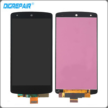 Buy Black LG Google Nexus 5 D820 D821 LCD Display Touch Screen Digitizer Assembly, Black Free + Tracking No. for $19.43 in AliExpress store
