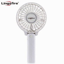 Foldable Handheld Personal Fan Battery Portable Desktop Mini Fan Electric Hand Bar Baby Stroller Fan Rechargeable Battery(China)