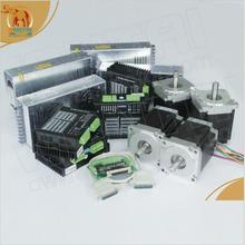 Promotion!!!! 4 Axis Nema 34 Wantai Stepper Motor Single Shaft 1600oz-in, 3.5A & 80VDC,7.8A Foam Mill Cutter Engraver