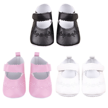 Soft Bottom Baby Shoes Newborn  Girl Children PU Embroidered Sneaker Princess Baby Shoes Toddler Shoe Prewalkers