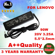 Wholesale laptop adapter AC Charger power  for Lenovo IBM Z500 P500 Z400 B470 G470 G570 B570 B570e  V570 Series 20 V 3.25A  90W