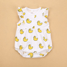 TTONCEN 9style fashion summer children's rompers baby Dot duck  pattern one pieces body suits for boys & girls cotton clothes