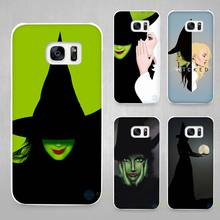Broadway Musical Wicked Lyrics Hard White Coque Shell Case Cover Phone Cases for Samsung Galaxy S4 S5 S6 S7 Edge Plus(China)
