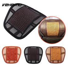 Vehemo Car Auto Mesh Cloth Bead Massage Seats Cover Waist Cushions Relief Comfort(China)