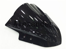 HotSale  For Kawasaki Ninja 300 R EX300 EX300R ex300 r 2013 2014 2015 black Windshield WindScreen Double Bubble EX 300 R ex r