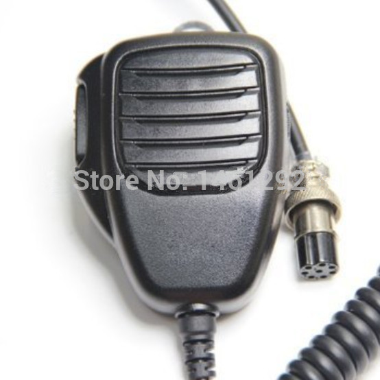 8-pin Plug Remote Speaker Mic Microphone PTT For ICOM HF Transceiver Radio IC-9100 IC-7800 IC-7700 IC-7600 IC-7410 IC-7200(China (Mainland))