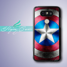 Capa Captain America Shield Phone Cases for Google Nexus 5 Case for LG G5 G4 G3 Case for Huawei Ascend P7 P8 P9 Lite Plus Case.(China)
