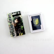 Japan Animation Attack on Titan Playing Cards, Attack on Titan Poker Play Cards Custom Design Animation Poker(China)