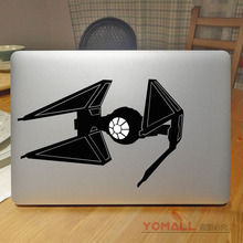 "Tie Fighter Cool Laptop Sticker for Apple Macbook Pro Air Retina 11"" 12"" 13"" 15"" Mac Mi Notebook Cover Skin Laptop Decal(China)"