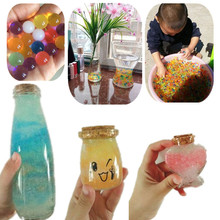 DIY Gift Making Home Decor 1000Pcs Pearl Shaped Crystal Soil Orbiz Growing Bulbs Water Beads Aqua Soil Mud Magic Jelly Balls