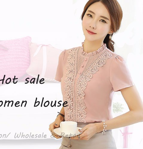 HTB1231iRpXXXXcKXpXXq6xXFXXXx - New Women Chiffon blouse Flower long sleeved Casual shirt