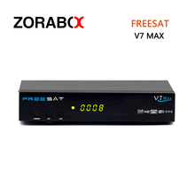 [GENUINE]Free to air tv satellite receiver Freesat V7 max HD decoder dvb-S2 hd support usb wifi youtube cccam newcam bisskey(China)