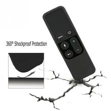 Silicone Protective Case Cover Skin for Apple TV 4 Remote Controller(China)