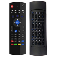 New Fly Air Mouse Wireless Game Keyboard Android Remote Controller Rechargeable 2.4Ghz Keyboard for Smart TV Mini PC(China)