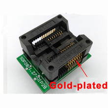 SOP16 300mil burning chip wide body IC OTS28-1.27-04 programming adapter Socket programmer(China)