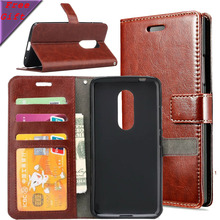 Axon7 PU Leather Case + Soft TPU Flip Phone Cases For ZTE Axon 7 A2017 With Photo Frame Wallet Cover Smart Phone Bags