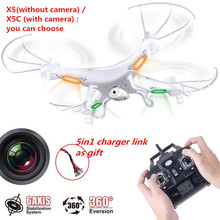 Quadcopter Drone Syma x5c-1 Camera Quadcopter 2.4G 4CH 6Axis Drone drone x5c camera Remote Control RC Quadcopter Freeshipping(China)