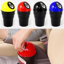 2016 Car styling Convenient Mini Auto Car Home Trash Rubbish Can Garbage Dust Case Holder Box Bin Dustbin Dropping Shipping
