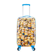 Children's rolling suitcase  spinner Men's and women's cartoon suitcase 20 inch boarding luggage box