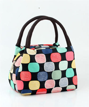 21 Pattern Lunch Bags 2017 Brand Thermal Cooler Waterproof Insulated Portable Tote Picnic Lunch Bag New Wholesale lancheira