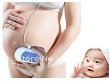 Baby Sound A Prenatal Fetal Doppler Heart Monitor, CE FDA Approved Baby Heart Rate Monitor with Free Gel