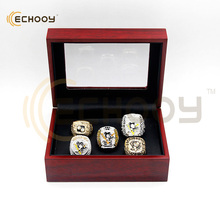 drop shipping 1991/1992/2009/2016/2017 Pittsburgh Penguins NHL Replica Championship Rings sets with box for man