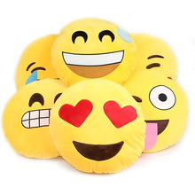1pcs emoji pillow cushion decoration decorative pillows Smiley Face Pillow emoticons cushions Classical toys