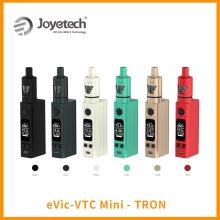 Big Sale Original Joyetech eVic-VTC Mini With TRON-S Atomizer Gift Silicone Case eVic VTC Mini 75w Vape Kit Vaporizer E-Cig
